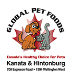 Global Pet Foods Kanata & Hintonburg logo