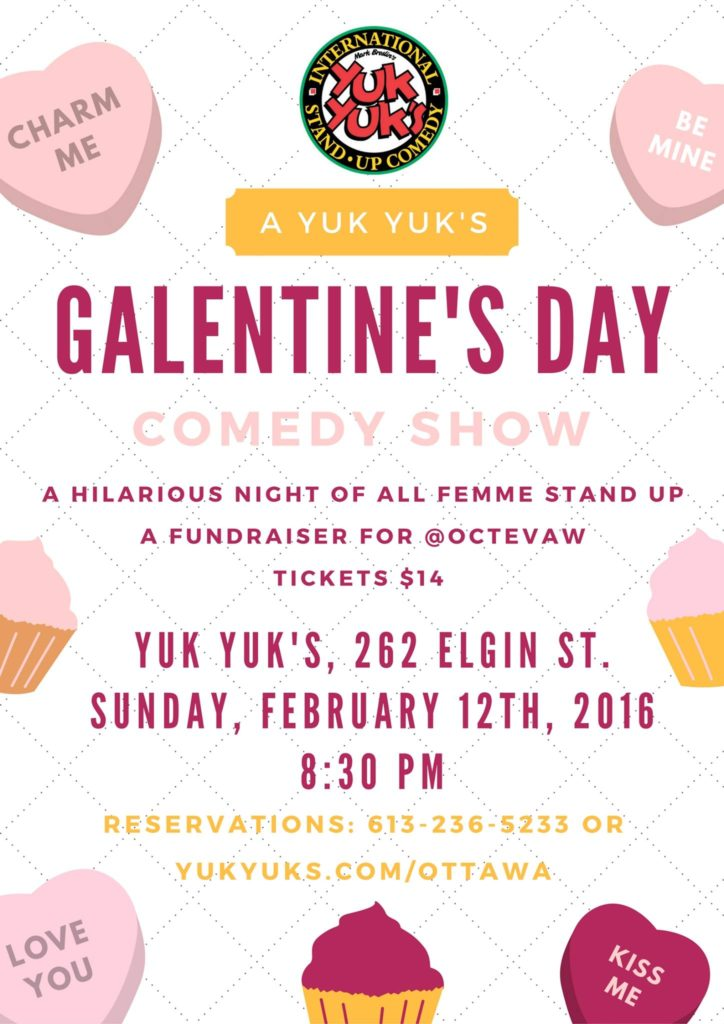 Galentine's Day Comedy Show hosted by OCTEVAW